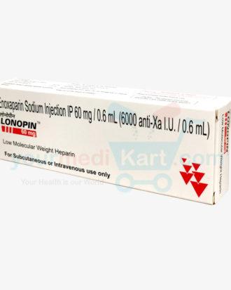 Lonopin 60Mg/0.6ML Inj